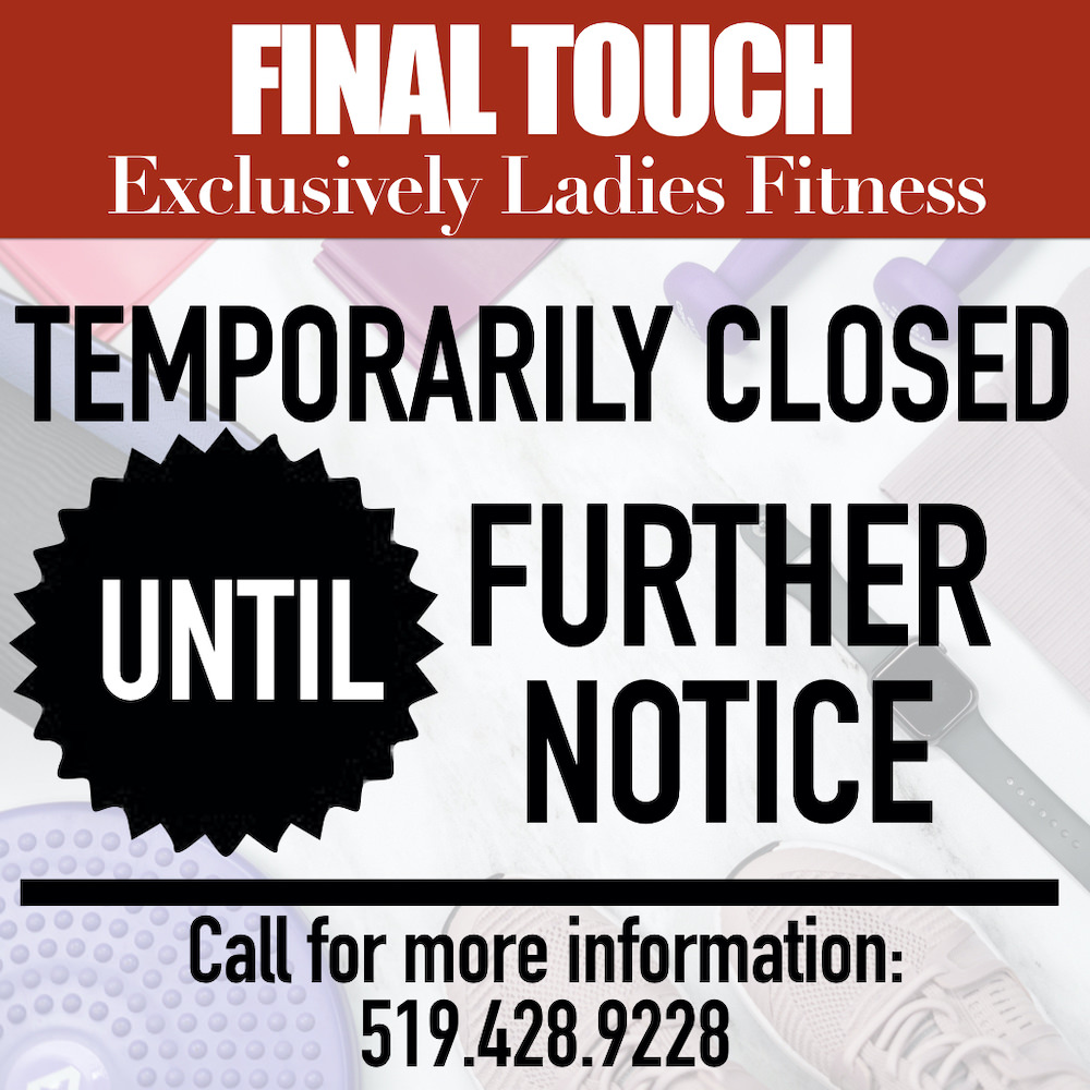 Final Touch Fitness Closure